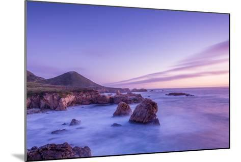 California Beach Sunset-rebelml-Mounted Photographic Print