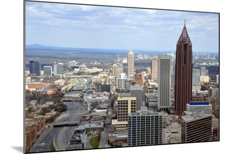 Aerial View of Atlanta, Georgia-bren64-Mounted Photographic Print