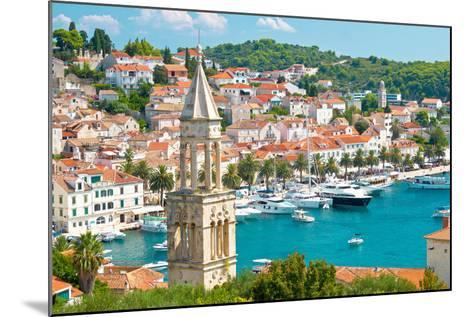 Amazing Town of Hvar Harbor-xbrchx-Mounted Photographic Print