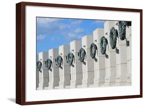 Washington DC - World War II Memorial-Orhan-Framed Art Print