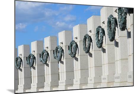 Washington DC - World War II Memorial-Orhan-Mounted Photographic Print