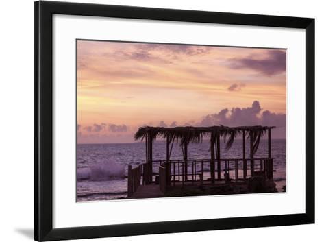 Tongan Sunset - Eua Island-benkrut-Framed Art Print