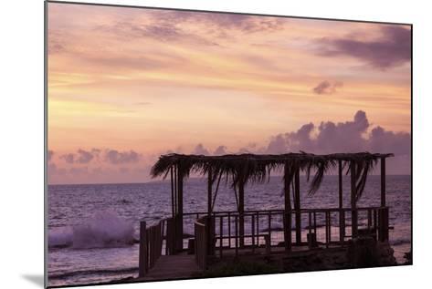 Tongan Sunset - Eua Island-benkrut-Mounted Photographic Print