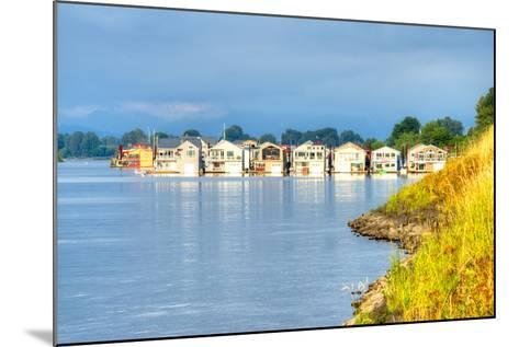 Houseboats-Anton Foltin-Mounted Photographic Print