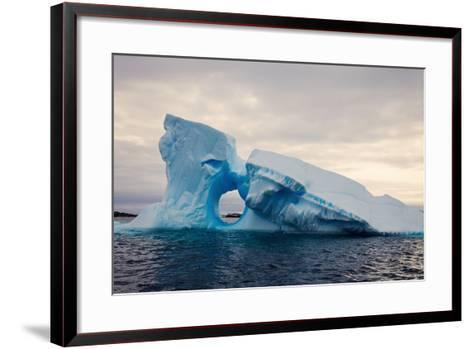 Iceberg - Antarctica-benkrut-Framed Art Print