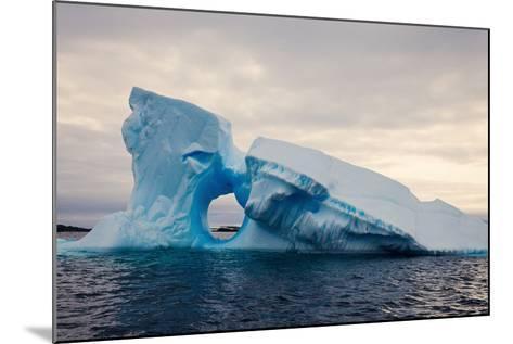 Iceberg - Antarctica-benkrut-Mounted Photographic Print