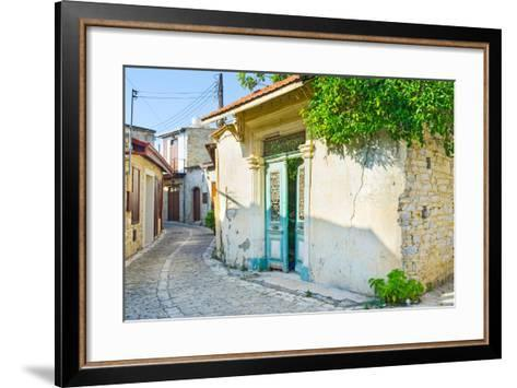 The Old Home-efesenko-Framed Art Print