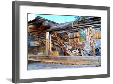Old Decaying House-bendicks-Framed Art Print