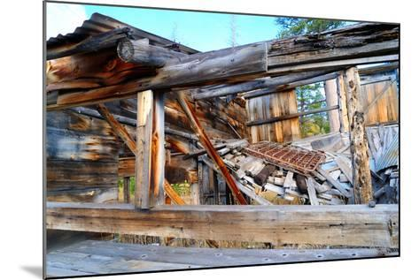 Old Decaying House-bendicks-Mounted Photographic Print