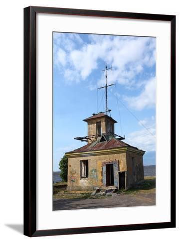 Abandoned Lighthouse-mrivserg-Framed Art Print