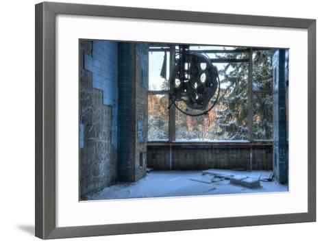 Abandoned Operating Theater in Beelitz-Stefan Schierle-Framed Art Print