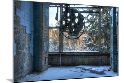 Abandoned Operating Theater in Beelitz-Stefan Schierle-Mounted Photographic Print