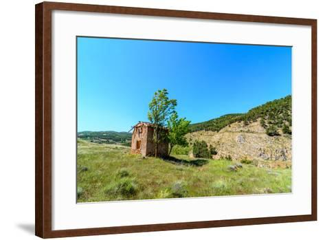 Abandoned Telecom Office of the Ghost Town Las Menas-Zuistock-Framed Art Print