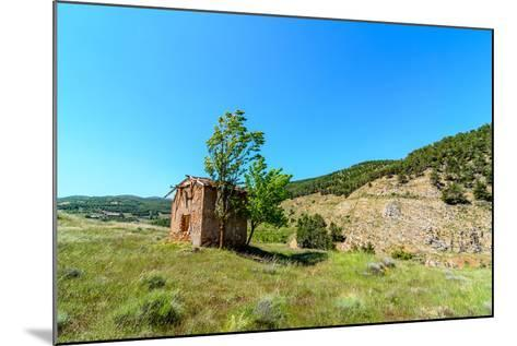 Abandoned Telecom Office of the Ghost Town Las Menas-Zuistock-Mounted Photographic Print