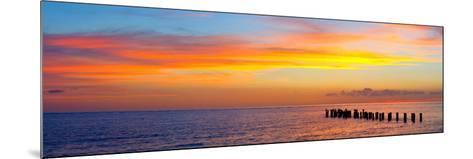 Sunset or Sunrise Landscape Panorama of Beautiful Nature Beach-Fotomak-Mounted Photographic Print