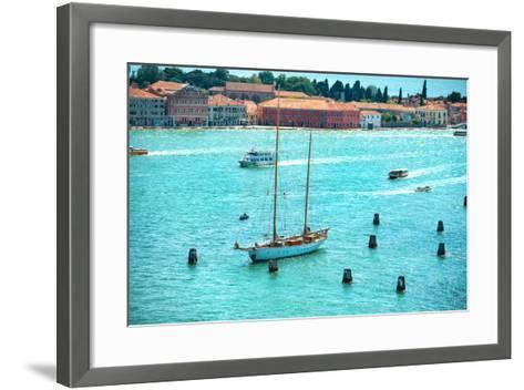 Grand Canal in Venice, Italy.-Vakhrushev Pavel-Framed Art Print