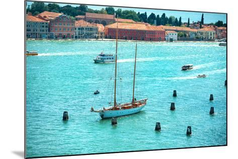 Grand Canal in Venice, Italy.-Vakhrushev Pavel-Mounted Photographic Print
