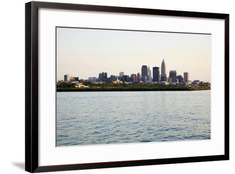 Late Afternoon in Downtown Cleveland-benkrut-Framed Art Print