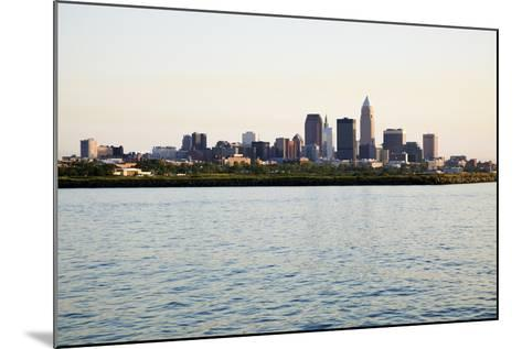 Late Afternoon in Downtown Cleveland-benkrut-Mounted Photographic Print