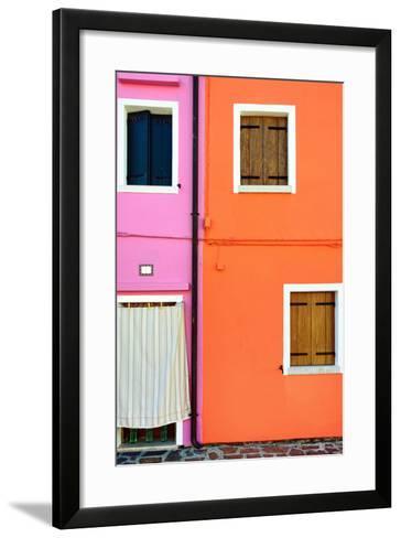 Burano Island, Venice-Oleg Znamenskiy-Framed Art Print