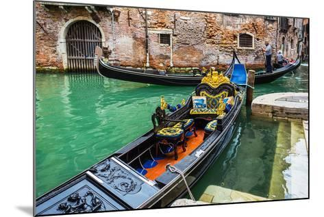 Tourists Travel on Gondolas at Canal-Alan64-Mounted Photographic Print
