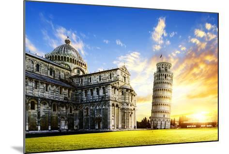 Pisa City-vent du sud-Mounted Photographic Print
