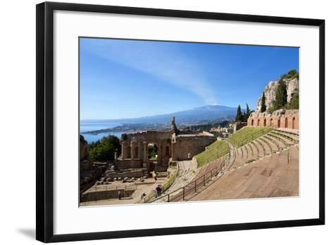 Taormina-lachris77-Framed Art Print