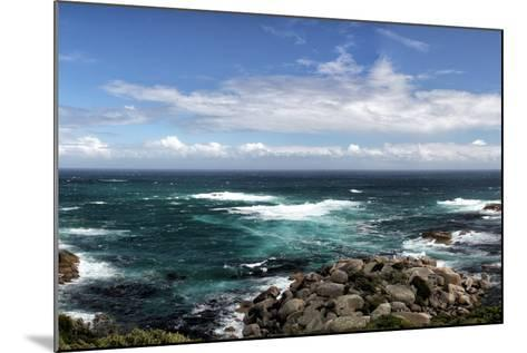 Rocky Coast near Cape Town-dirkr-Mounted Photographic Print