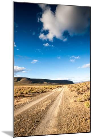 Karoo Desert Gravel Road-dan-edwards-Mounted Photographic Print