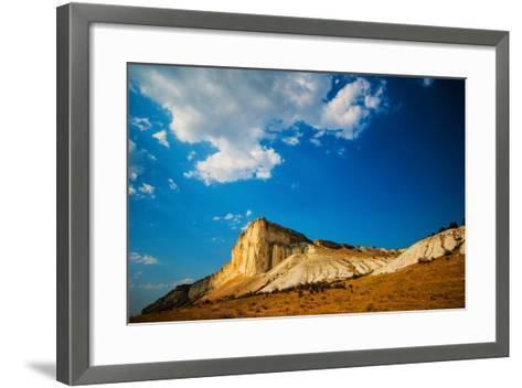 White Rock-Grafmaster-Framed Art Print
