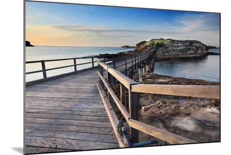 Sunrise at Bare Island Australia-lovleah-Mounted Photographic Print