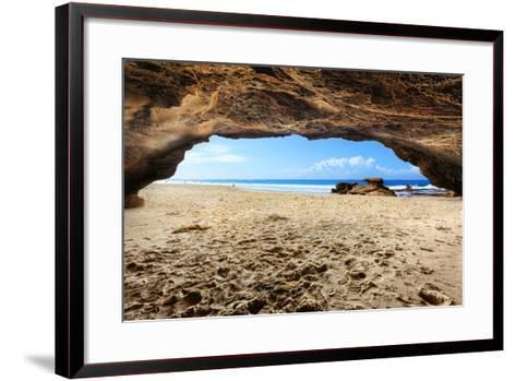 Caves Beach, NSW Australia-lovleah-Framed Art Print