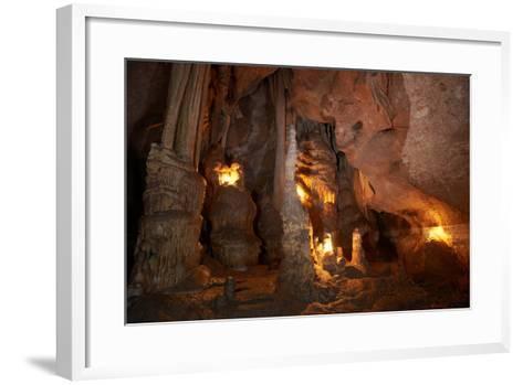 Inside the Cave-Vakhrushev Pavel-Framed Art Print