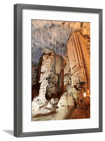 Limestone Cavern Formations-Four Oaks-Framed Art Print