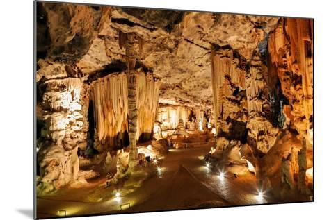 Limestone Cavern Formations-Four Oaks-Mounted Photographic Print