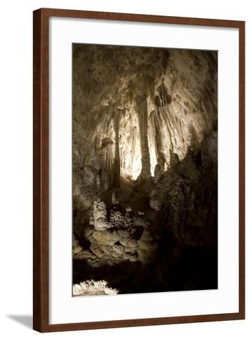 Cavern with Pillar-Pieter De Pauw-Framed Art Print