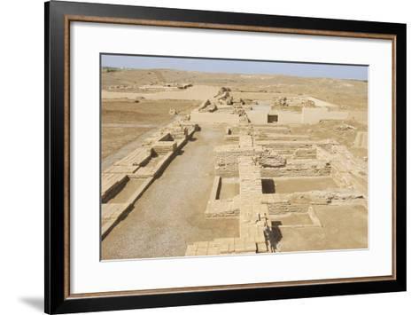 Ruins of Otrar (Utrar or Farab) Central Asian Ghost Town, South Kazakhstan Province, Kazakhstan.-Dmitry Chulov-Framed Art Print