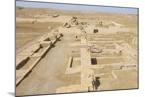 Ruins of Otrar (Utrar or Farab) Central Asian Ghost Town, South Kazakhstan Province, Kazakhstan.-Dmitry Chulov-Mounted Photographic Print