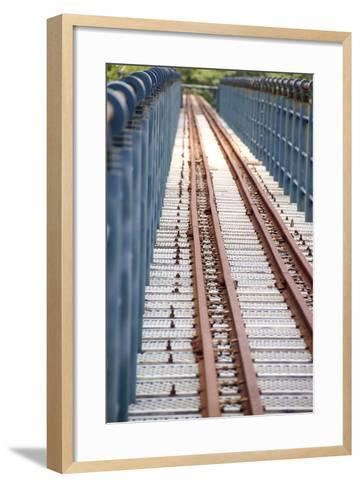 The Abandoned Railroad-david734244-Framed Art Print