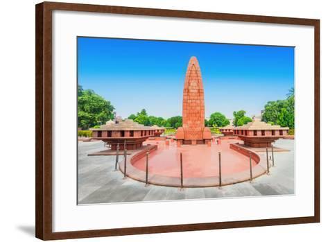 Jallianwala Bagh Memorial-saiko3p-Framed Art Print