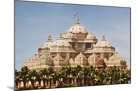 Facade of a Temple, Akshardham, Delhi, India-jackmicro-Mounted Photographic Print