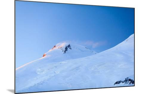 Mountains Beautiful Elbrus Landscape Russia-blas-Mounted Photographic Print