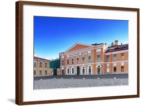 Mint - Peter and Pavel Fortress Area, Saint Petersburg.-Brian K-Framed Art Print