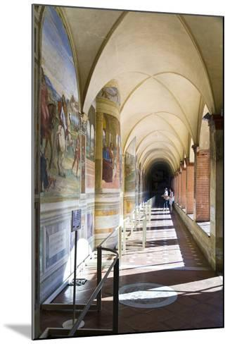 Monte Oliveto Abbey in Tuscany-lachris77-Mounted Photographic Print