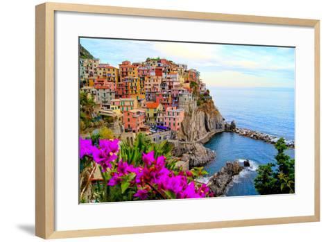 Cinque Terre, Italy-Jeni Foto-Framed Art Print