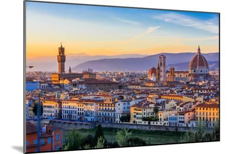 Florence, Italy-sorincolac-Mounted Photographic Print