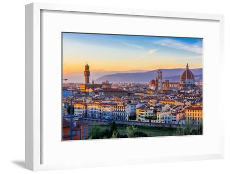 Florence, Italy-sorincolac-Framed Art Print
