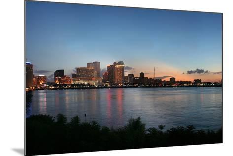 New Orleans Cityscape at Sunset-jpegisclair-Mounted Photographic Print