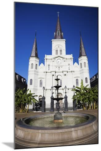 St. Louis Cathedral-benkrut-Mounted Photographic Print