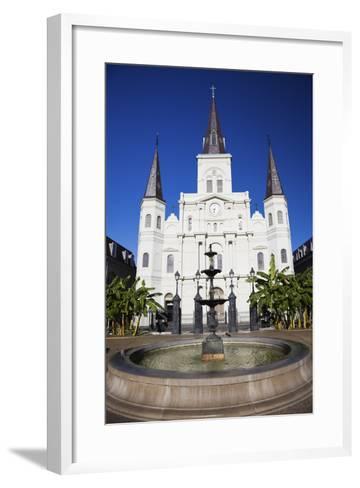 St. Louis Cathedral-benkrut-Framed Art Print